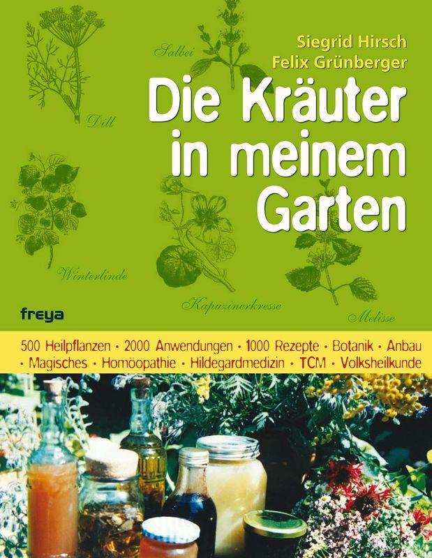 Bucheinband von 'Die Kräuter in meinem Garten'