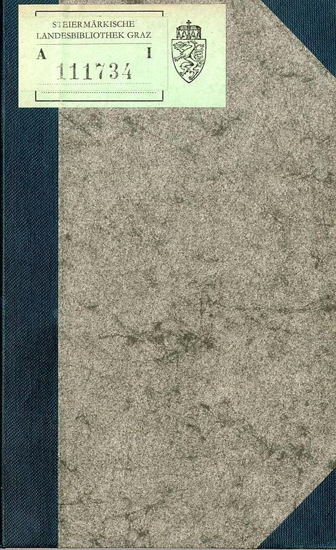 Cover of the book 'Die nordöstliche Steiermark - Eine Wanderung durch vergessene Lande'