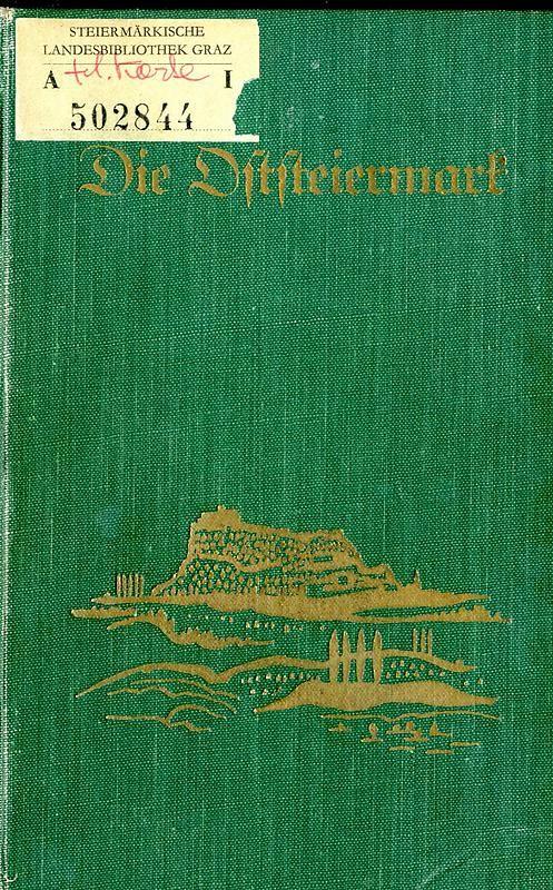 Bucheinband von Die Oststeiermark