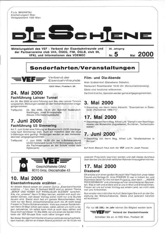 Bucheinband von 'Die Schiene, Band 26/05'