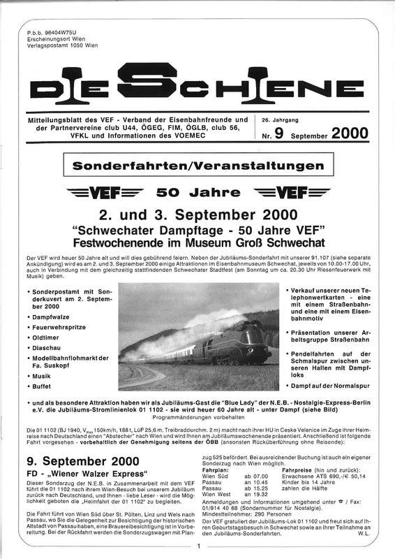 Bucheinband von 'Die Schiene, Band 26/09'
