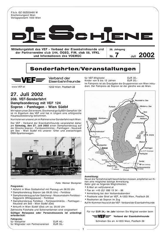 Bucheinband von 'Die Schiene, Band 28/07'