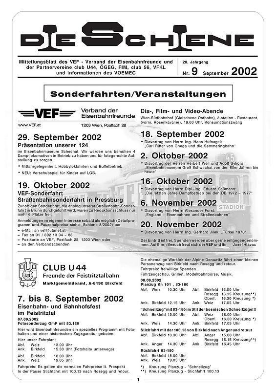 Bucheinband von 'Die Schiene, Band 28/09'