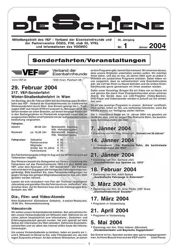 Bucheinband von 'Die Schiene, Band 30/01'