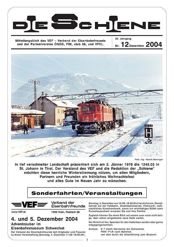 Bucheinband von Die Schiene, Band 30/12