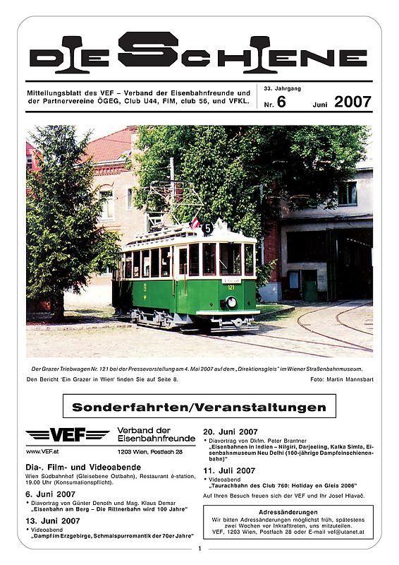 Bucheinband von 'Die Schiene, Band 33/06'