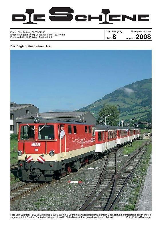 Bucheinband von 'Die Schiene, Band 34/08'