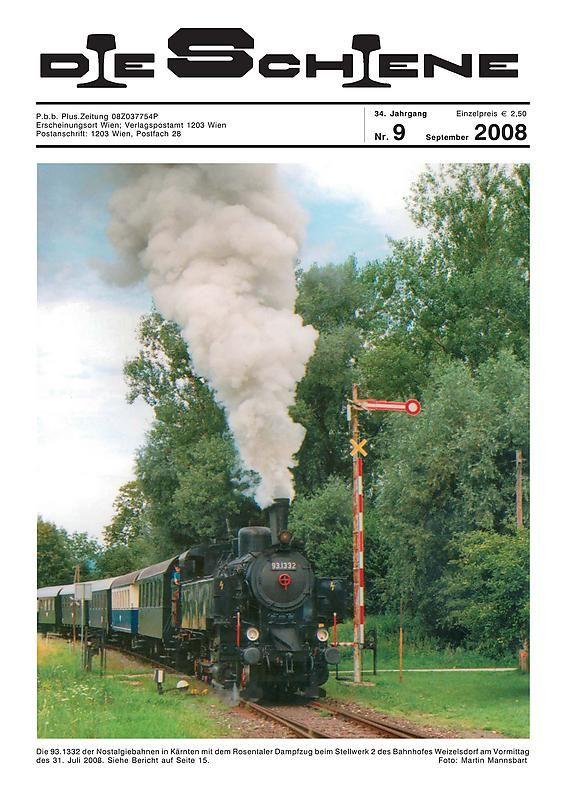 Bucheinband von 'Die Schiene, Band 34/09'