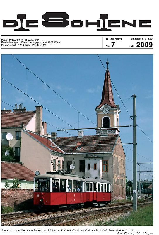 Bucheinband von 'Die Schiene, Band 35/07'