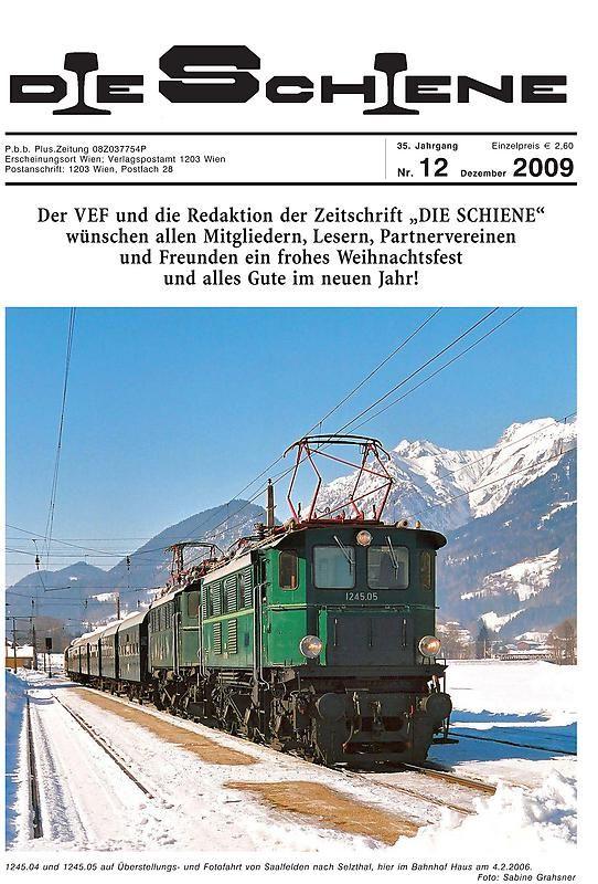 Bucheinband von 'Die Schiene, Band 35/12'