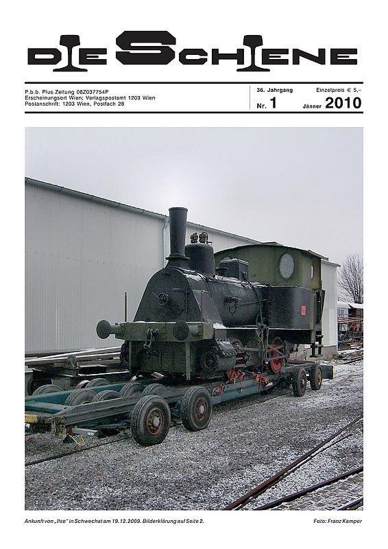 Bucheinband von 'Die Schiene, Band 36/01'