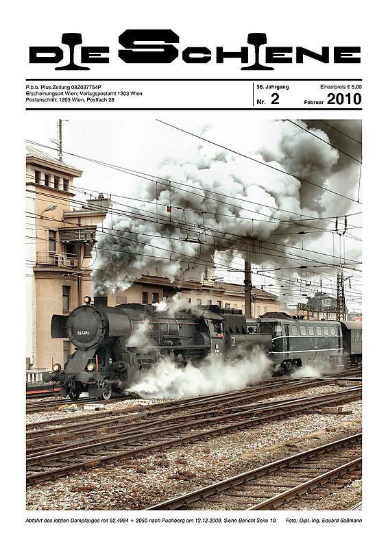Bucheinband von 'Die Schiene, Band 36/02'