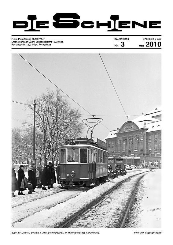 Bucheinband von 'Die Schiene, Band 36/03'