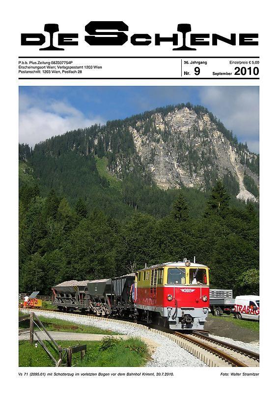 Bucheinband von 'Die Schiene, Band 36/09'
