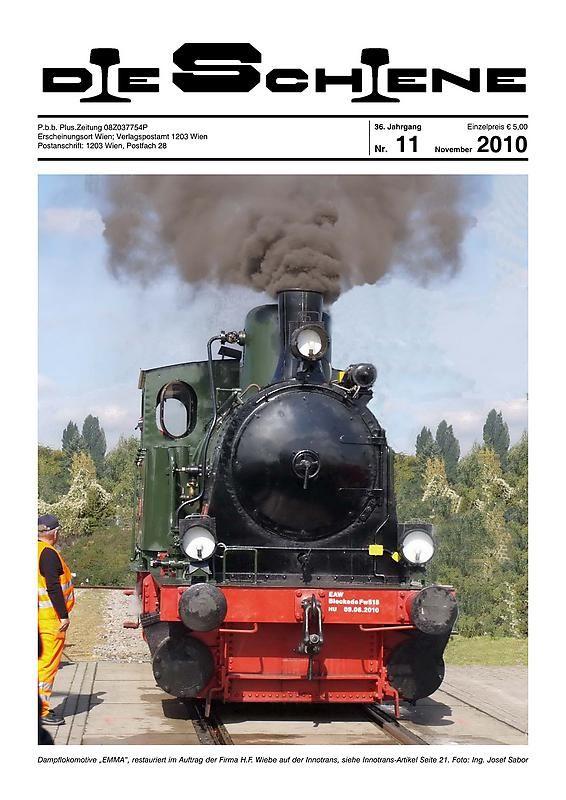 Bucheinband von 'Die Schiene, Band 36/11'