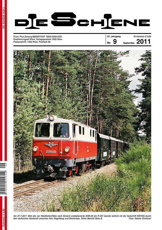 Bucheinband von 'Die Schiene, Band 37/09'