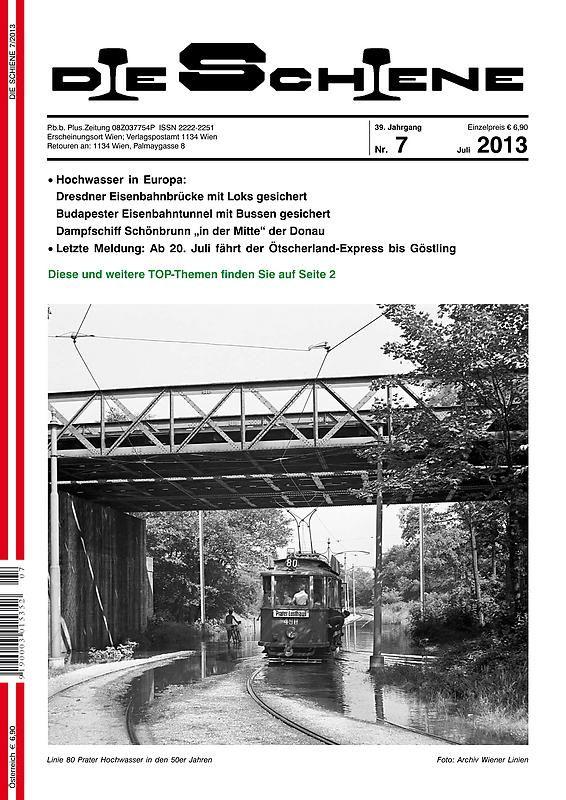 Bucheinband von 'Die Schiene, Band 39/07'
