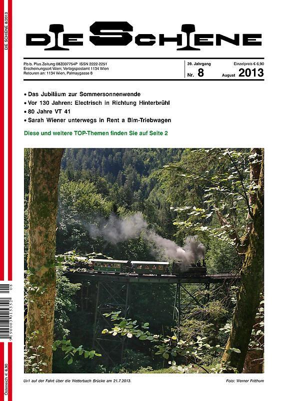Bucheinband von 'Die Schiene, Band 39/08'