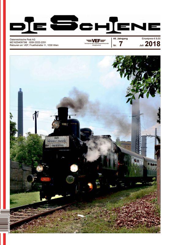Bucheinband von 'Die Schiene, Band 44/07'