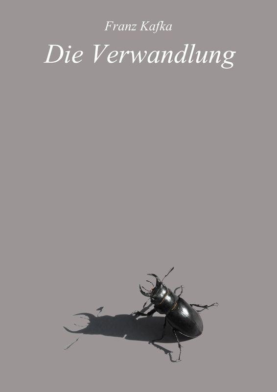 Bucheinband von 'Die Verwandlung'
