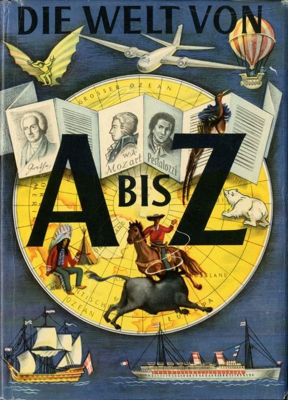 Cover of the book 'Die Welt von A bis Z'