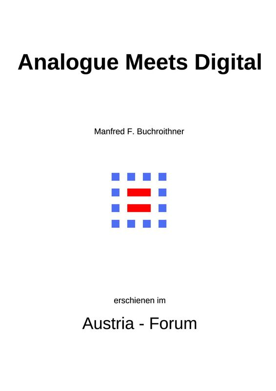 Cover of the book 'Analogue Meets Digital - History and Present IT Augmentation of Europe's Largest Landscape Relief Model in Villach, Austria'
