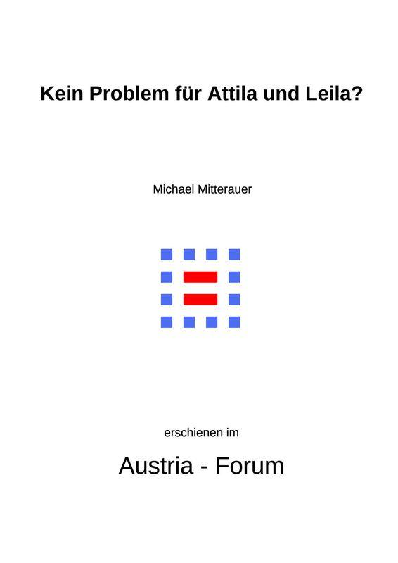 Bucheinband von 'Kein Problem für Attila und Leila? - Zur Namengebung in bikulturellen Familien'