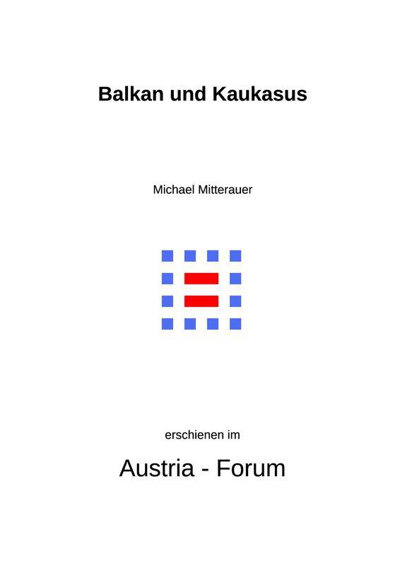 Bucheinband von 'Balkan und Kaukasus - Gebirgsgesellschaften im Vergleich'