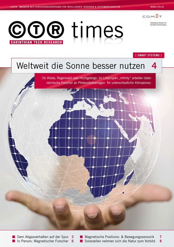 Cover of the book 'CTR Times, Volume 1/2016'
