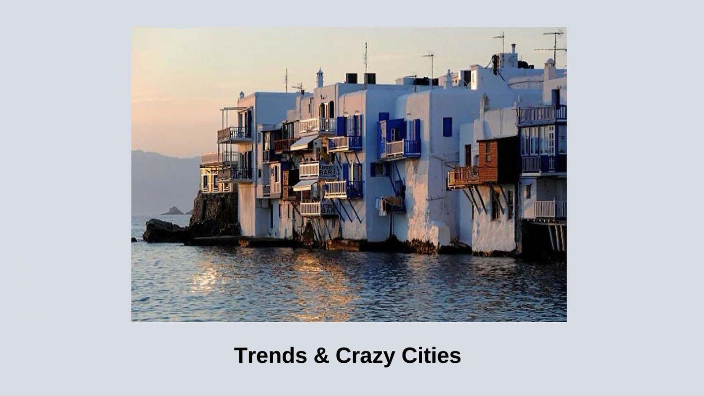 Bucheinband von Trends & Crazy Cities
