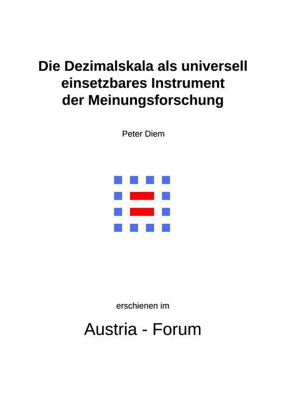 Bucheinband von 'Semi-qualitative Umfragen - Die Dezimalskala als universell einsetzbares Instrument der Meinungsforschung'