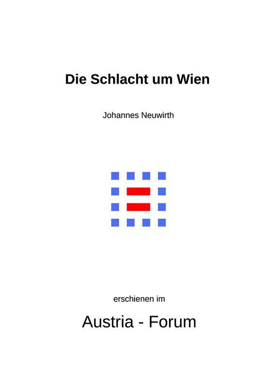 Bucheinband von 'Die Schlacht um Wien'