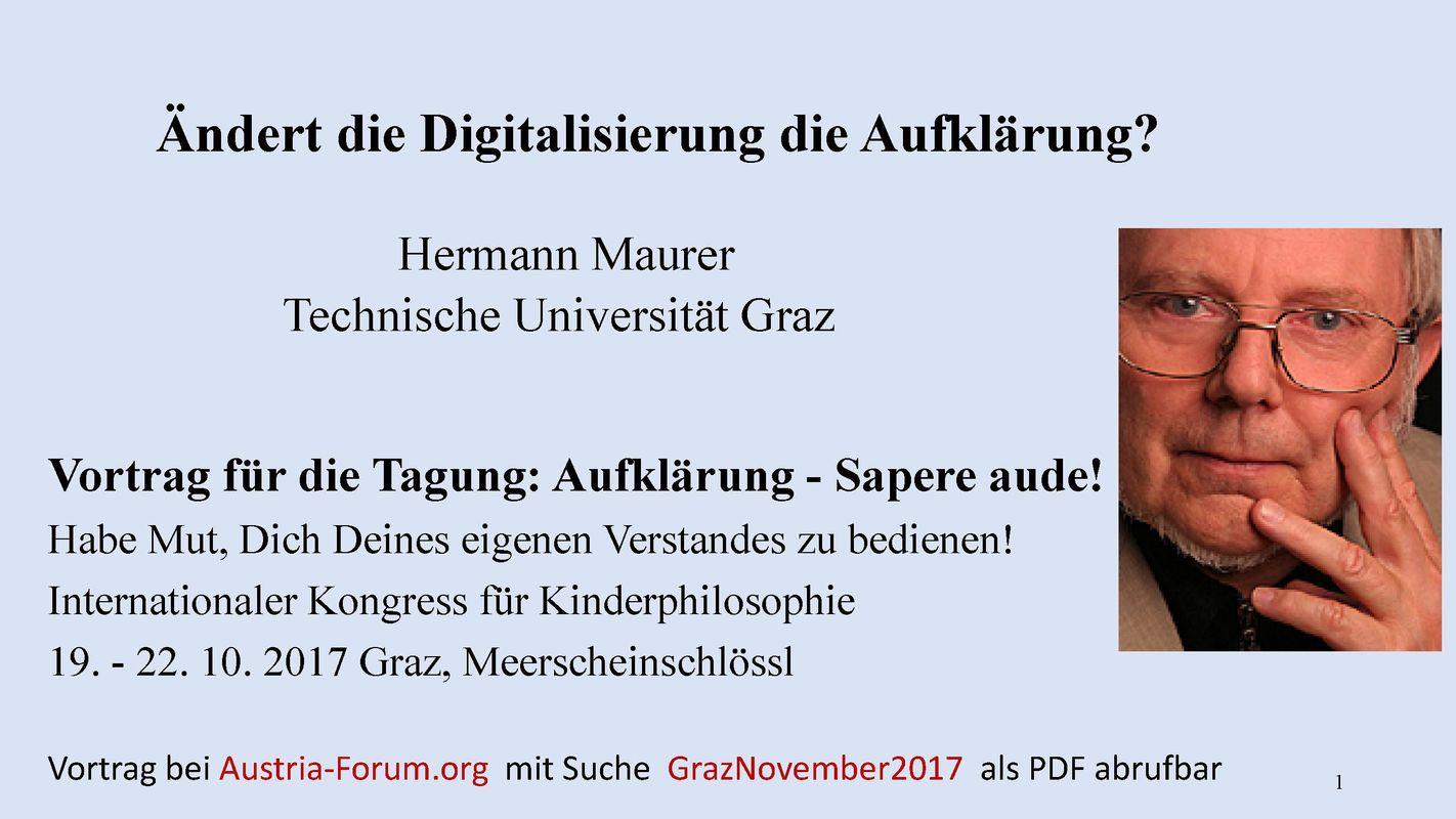Bucheinband von 'Ändert die Digitalisierung die Aufklärung?'