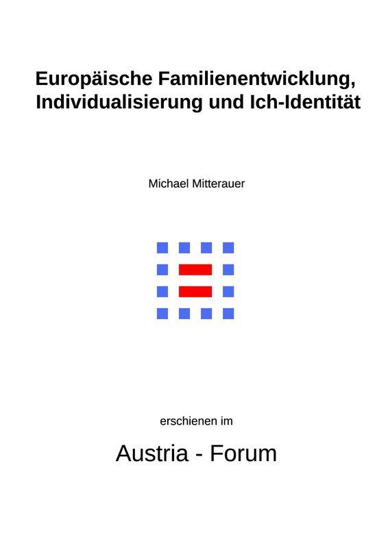 Bucheinband von 'Europäische Familienentwicklung, Individualisierung und Ich-Identität'