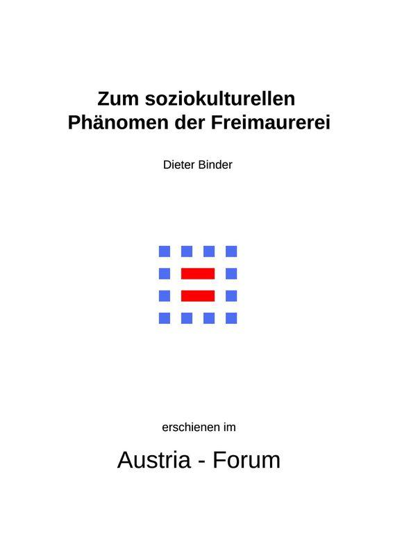 Bucheinband von 'Zum soziokulturellen Phänomen der Freimaurerei'