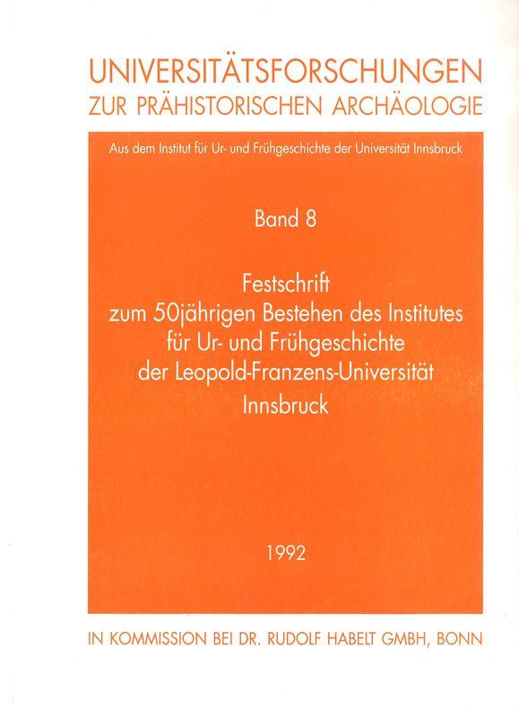 Bucheinband von 'Anthropologische Bestimmung des frühkaiserzeitlichen Skelettes von Thal, Gemeinde Assling, Osttirol'