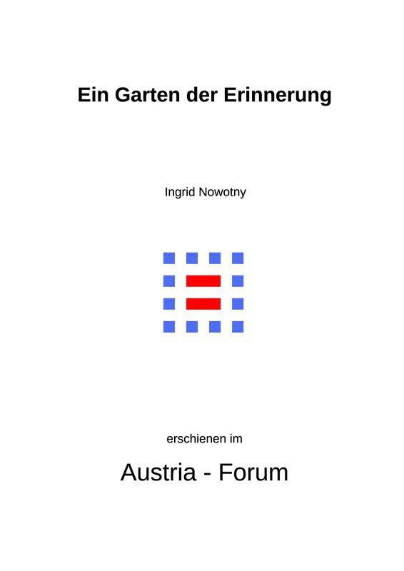 Bucheinband von 'Ein Garten der Erinnerung - Die jüdische Gemeinde Frauenkirchen'