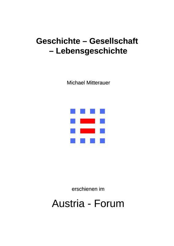 Bucheinband von 'Geschichte – Gesellschaft – Lebensgeschichte'