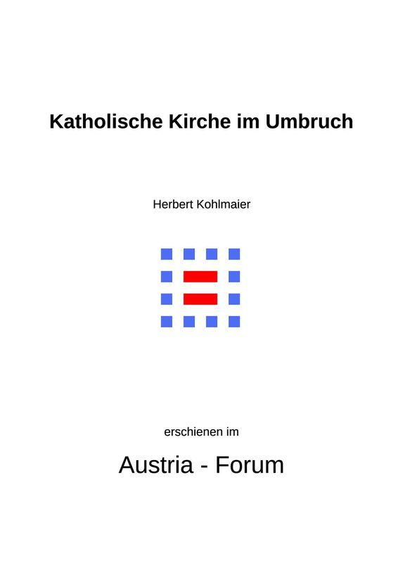 Bucheinband von 'Gedanken zu Glaube und Zeit - Katholische Kirche im Umbruch, Band 110'