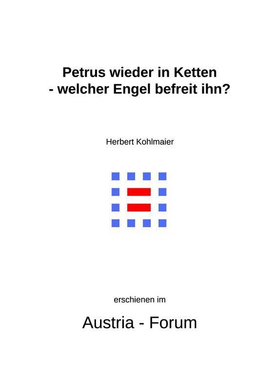 Bucheinband von 'Gedanken zu Glaube und Zeit - Petrus wieder in Ketten - welcher Engel befreit ihn?, Band 146'