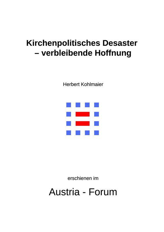 Bucheinband von 'Gedanken zu Glaube und Zeit - Kirchenpolitisches Desaster – verbleibende Hoffnung, Band 150'