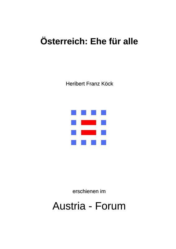 Bucheinband von 'Gedanken zu Glaube und Zeit - Österreich: Ehe für alle, Band 243/I'