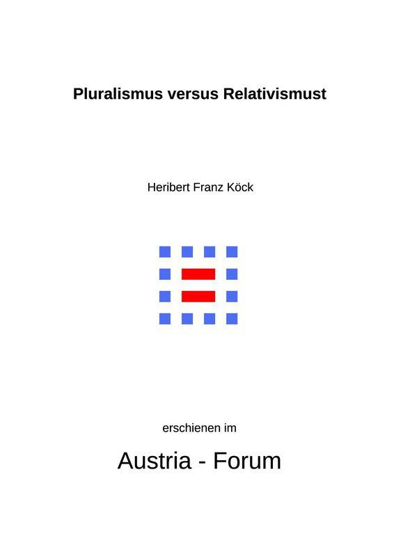 Bucheinband von 'Gedanken christlichen Glaubens unserer Zeit - Pluralismus versus Relativismus, Band 300'