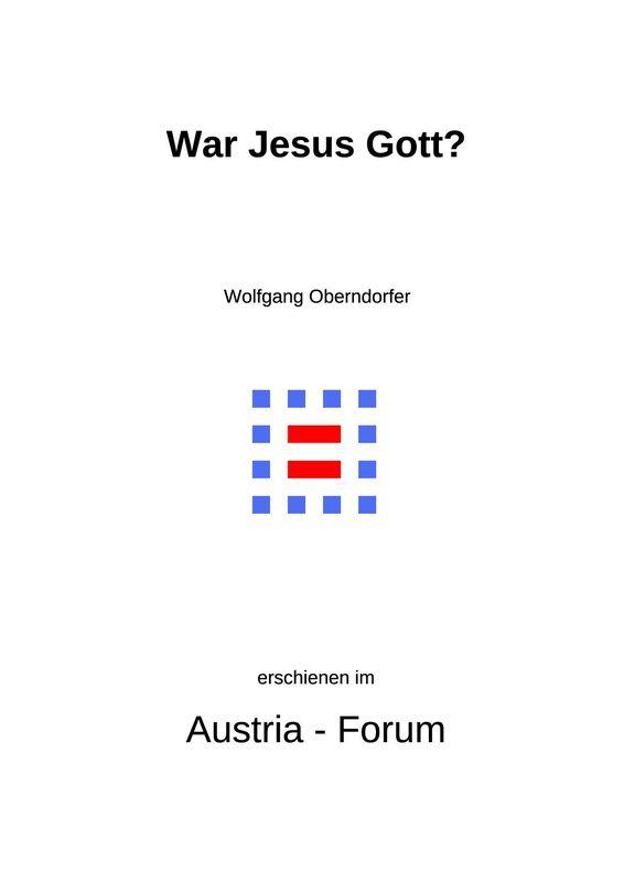 Bucheinband von 'Gedanken christlichen Glaubens unserer Zeit - War Jesus Gott?, Band 309'