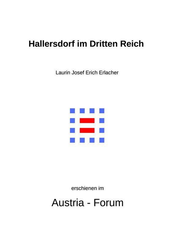 Bucheinband von 'Hallersdorf im Dritten Reich'