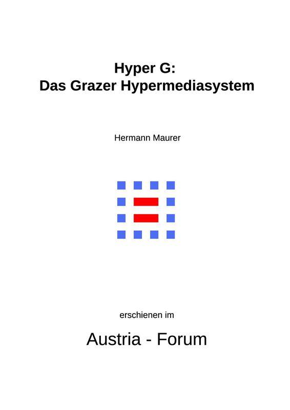 Bucheinband von 'Hyper G: Das Grazer Hypermediasystem'