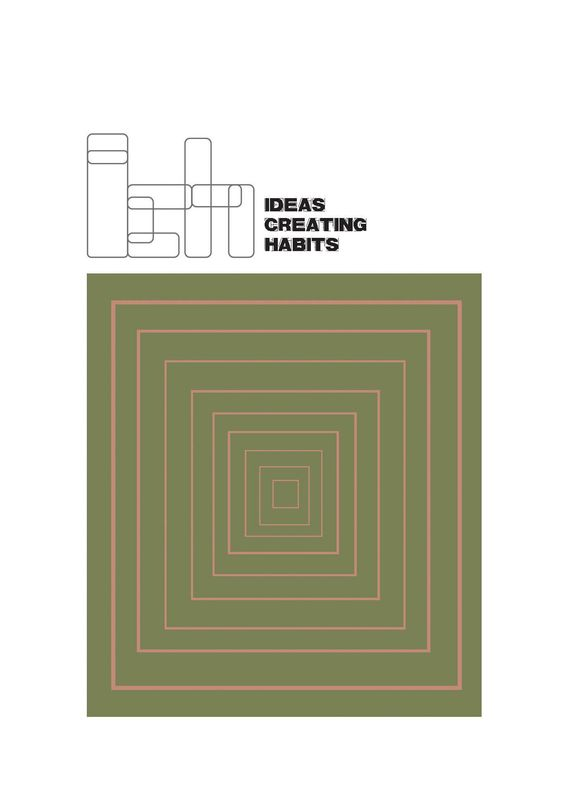 Cover of the book 'Ideas Creating Habits'