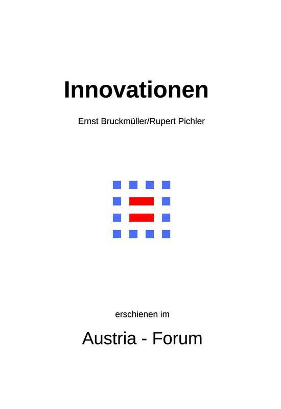 Bucheinband von 'Innovationen - Motoren der Veränderung'