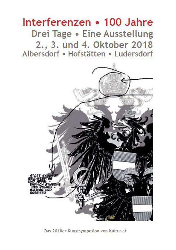 Bucheinband von Interferenzen • 100 Jahre - Drei Tage • Eine Ausstellung