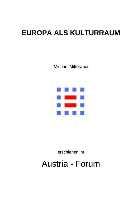 Bucheinband von 'Europa als Kulturraum - Kerngebiete und Randzonen'